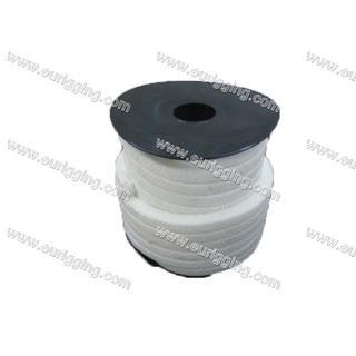 Packing white PTFE in rolls 8mm
