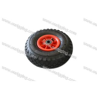 Wheel 300-4 2PR with plastic rim Hole Φ16mm