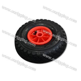 Wheel 300-4 2PR with plastic rim Hole Φ20mm